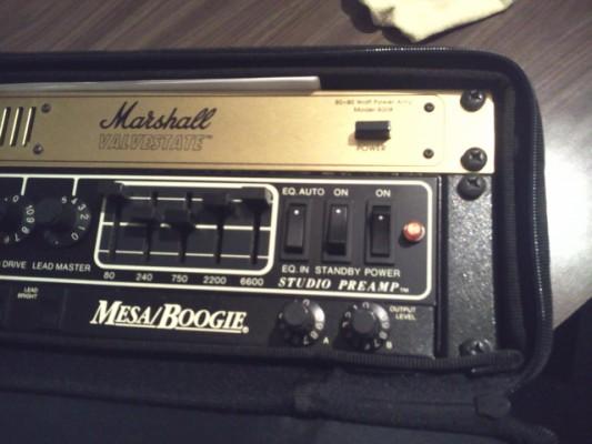 Previo de guitarra Mesa boogie Studio Preamp
