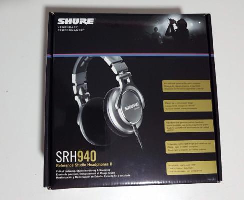 SHURE SRH 940 Auricular profesional estéreo SRH-940