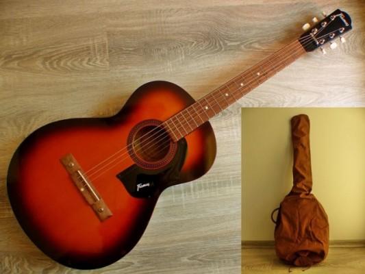 Guitarra acustica vintage parlor de la marca Framus