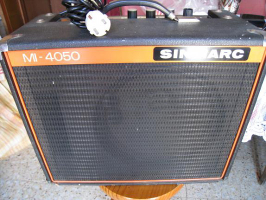 AMPLIFICADOR VINTAGE DE GUITARRA SINMARC MI 4050 (1980´S)