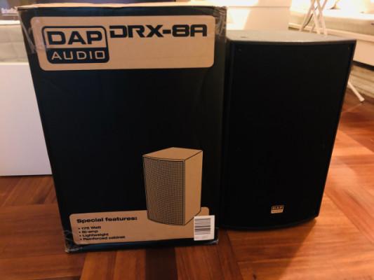 Procesador DBX. Sistema Cajas y sub grave amplificados DAP AUDIO