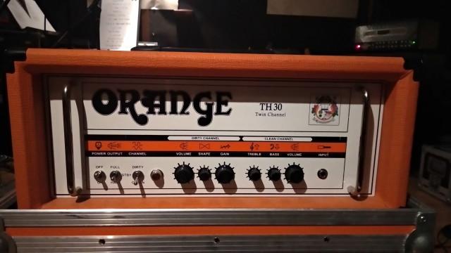 ORANGE TH-30 + Flight Case Naranja y Footswitch