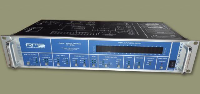 RME Digital / Analog Interface M-16 DA