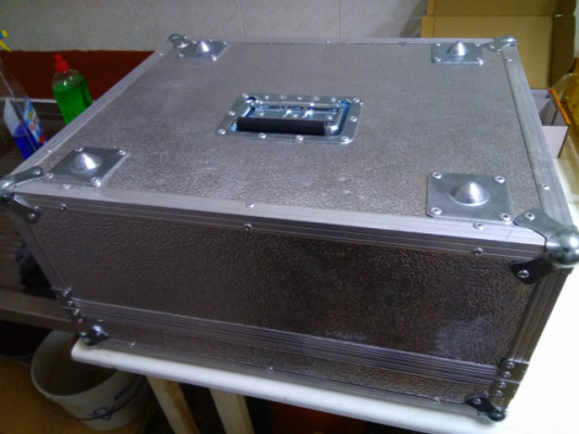 maleta aluminio flightcase mediana