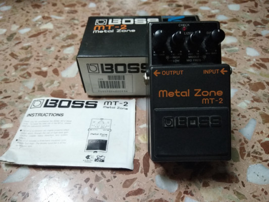 Metal Zone 1992 Boss Roland