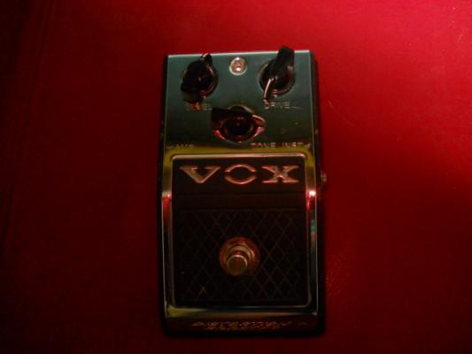 pedal booster distorsion VOX v830