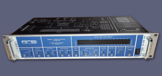 RME Digital / Analog Interface M-32 DA