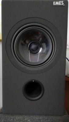 """Pareja de monitores EMES Black TV HR MKIV - 6.5"""" coaxiales"""
