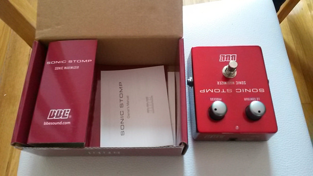 BBE SONIC STOMP PEDAL SONIC MAXIMIZER