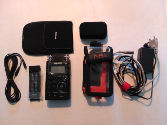 TASCAM DR 100 MKII Grabadora Digital - Azden fmx-42a Mixer
