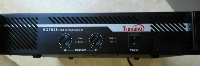 Etapa de potencia TSUNAMI HQ-702S
