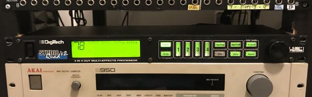 Digitech Studio v2 Quad - Multiefectos 4 canales