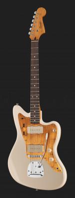 Jazzmaster J Mascis Fender Squier (2013, diap.Palorosa) + Estuche