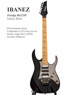 IBANEZ Prestige RG3550 Galaxy Black
