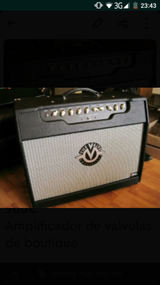 Amplificador de boutique THE VALVE 2 50