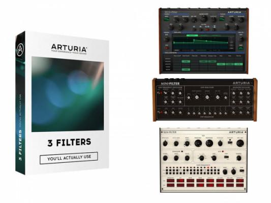 Arturia 3 Filters (Licencia Original)