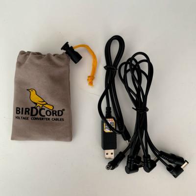 Convertidor USB > 9v Birdcord, fuente para alimentar pedales