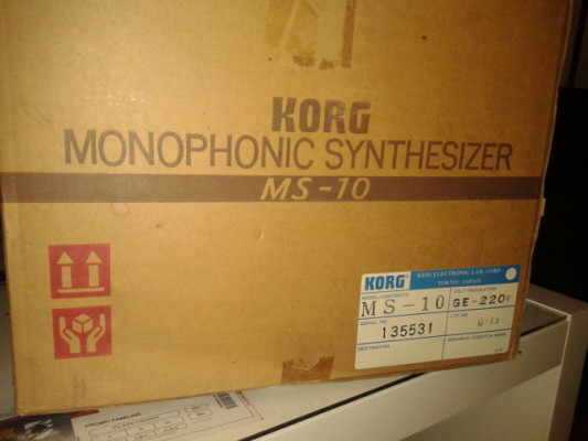 Sintetizador KORG Ms-10