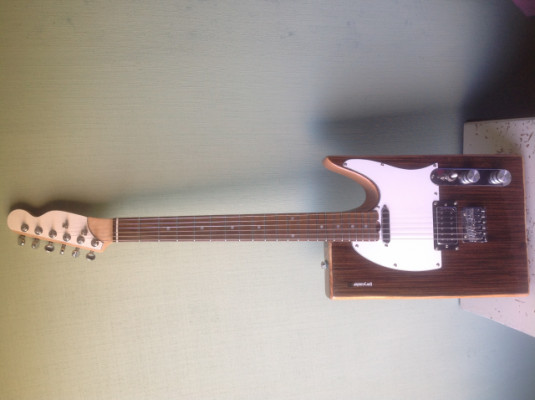 Guitarra eléctrica, modelo Tele