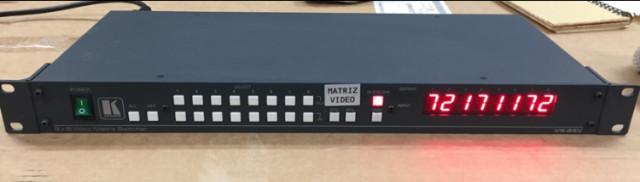 Kramer VS-88V   Vídeo matrix switcher