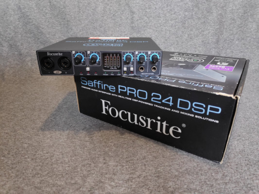 Focusrite Saffire Pro 24 DSP Firewire Audio Interf
