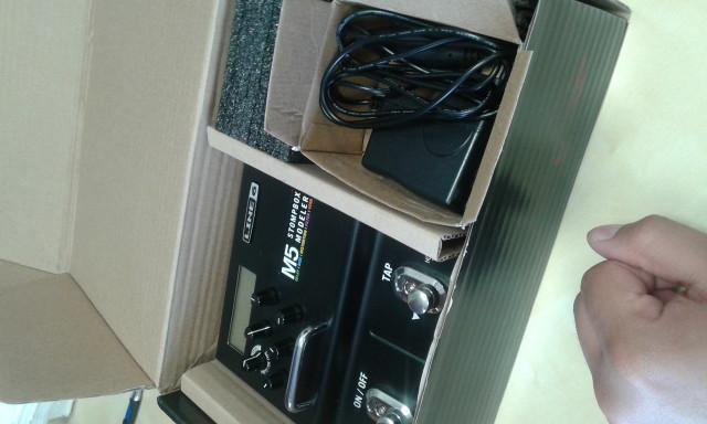 Vendo o cambio: Line 6 M5 Stompbox