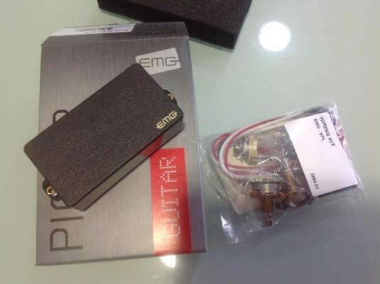 EMG 85 NUEVA!. Sistema solderless.