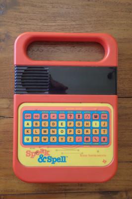 Speak & Spell by Texas Instruments