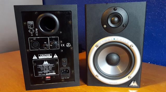 Monitores autoamplificados M-Audio BM5 Audiophile