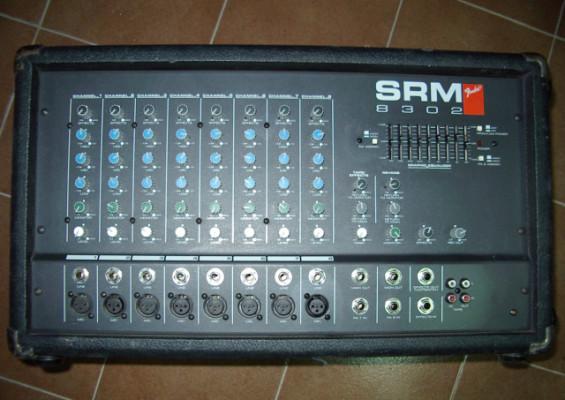 Mezclador y amplificador (etapa de potencia) Fender SRM 8302