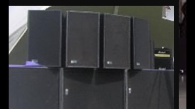 Chollazo vendo equipo Meyer Sound 4-msl4 y 4 sub 650