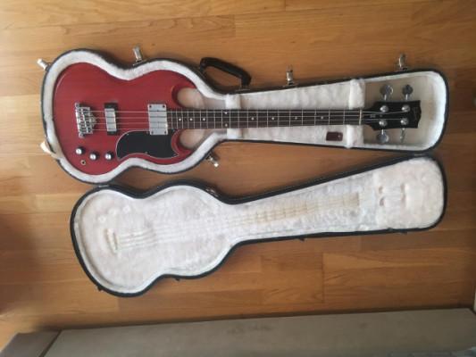 Gibson USA SG Bass Faded Worn Cherry - 2011