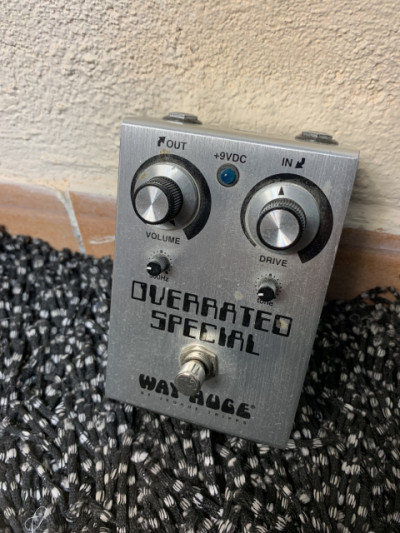 Pedal overdrive Way Huge Overrated Special