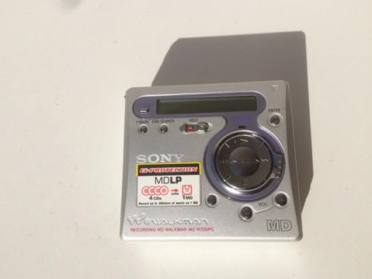 Sony minidisc Reproductor/grabador