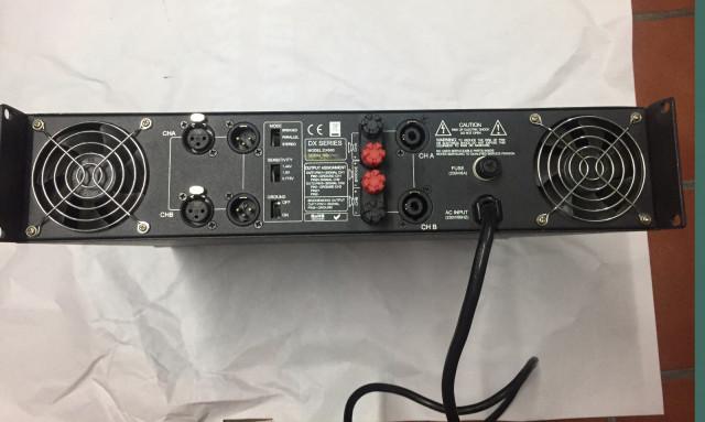 Etapa de potencia Amplificador Master Audio DX 600