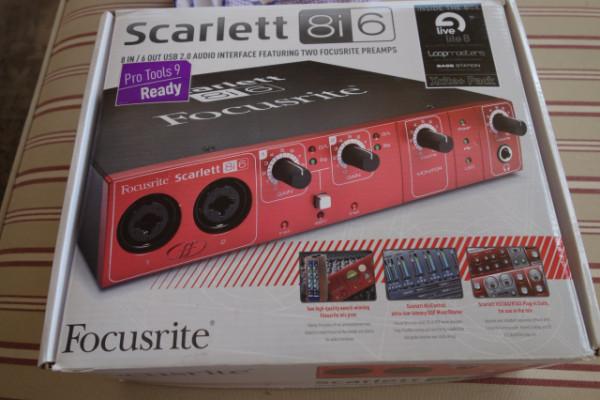 Focusrite Scarlett 8i6