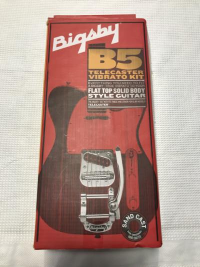 Cambio o vendo Bigsby B5 Telecaster mas Vibramate