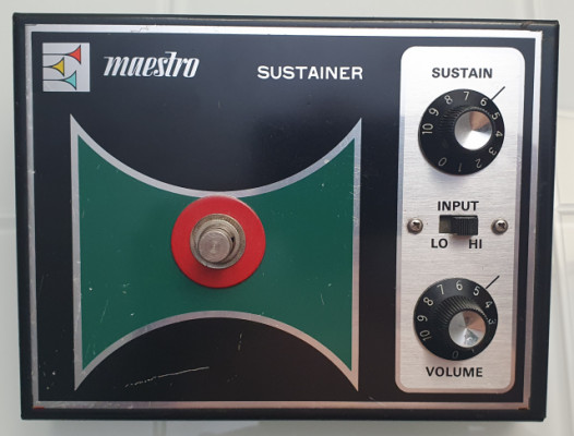 Gibson maestro sustainer ss-3 pedal 1974