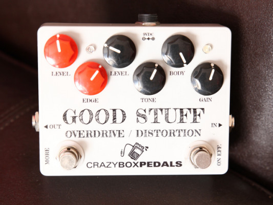 "CRAZYBOX Pedals ""GODD STUFF"" Overdrive/Distortion"