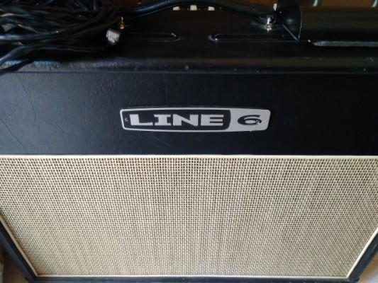 Line6 flextone III 150 2 celestion + pedal y funda envio incluido