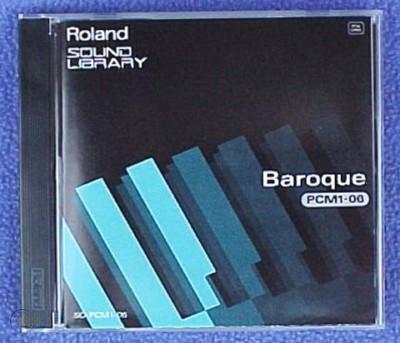 Roland Sound Library PCM1-06 Baroque