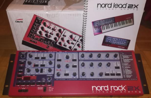 NORD RACK 2x Clavia Intacto con caja original e instrucciónes.