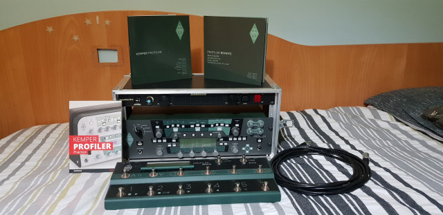 Vendo Kemper Power Rack + remote+ samson powerbrite pb 10 + rack 6u