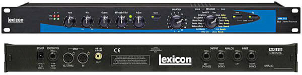 LEXICON MPX 110 DUAL CHANNEL PROCESSOR