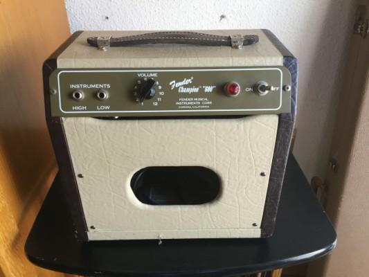 Vendo Fender Champion 600 Mejorado