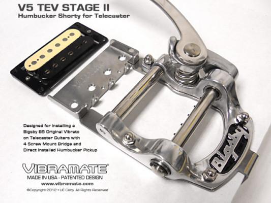Bigsby B5  + Vibramate V5-TEV Stage II  Shorty NUEVOS EN SU CAJA