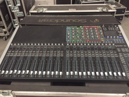 Mesa Soundcraft Si performen 3 + stagebox 32i