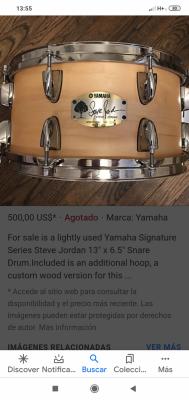 Busco caja Yamaha Signature Steve Jordan