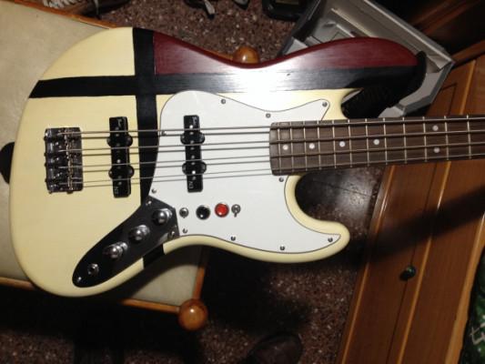 Jazz bass Thomann diy