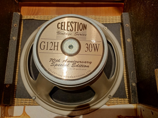 Altavoz Celestion G12 70 Anniversary special  edition